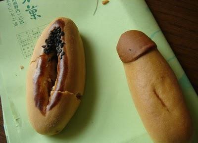 Inilah Roti Berbentuk Vagina Cewek dan Penis Cowok