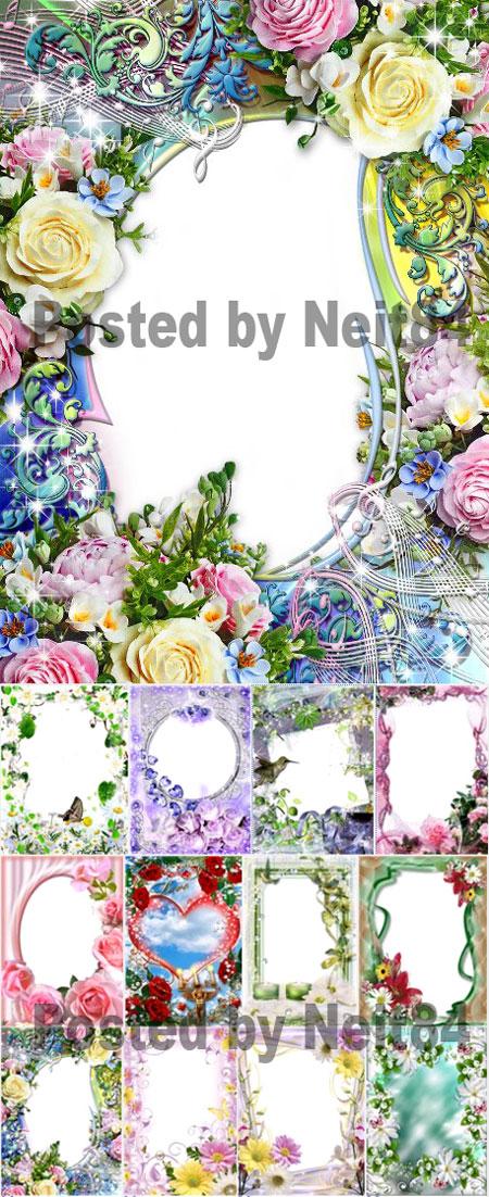 Gambar Bingkai Bunga Pic #23