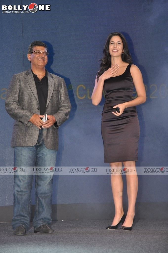 Katrina Kaif in Black Dress at Blackberry Curve 9220 launch party - Katrina Kaif Blackberry Launch Pics - April 2012
