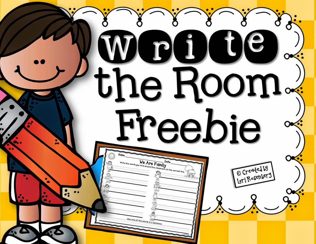 Try It Free Tuesday Write The Room Miss Kindergarten
