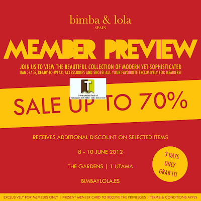 bimba & lola Member Preview Sale 2012