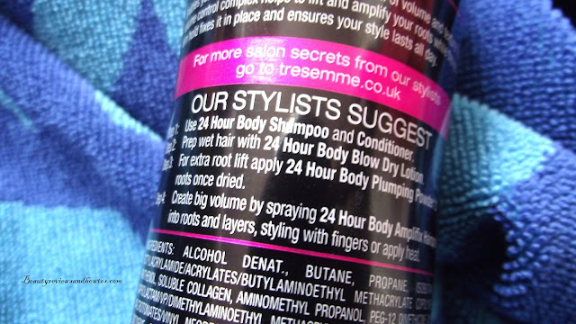 Treseme 24 Hour Body Amplifix Hairspray Review