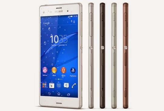 Harga Sony Xperia Z3