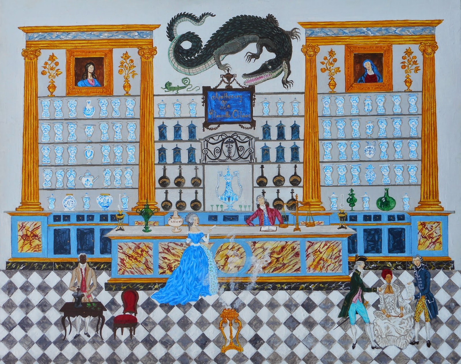 Southern Folk Artist & Antiques Dealer/Collector: Colorful ...