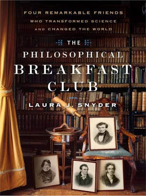 The Philosophical Breakfast Club. Cover shows portraits of Charles Babbage, John Herschel, William Whewell, and Richard Jones.