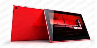 spesifikasi tablet lumia 2520
