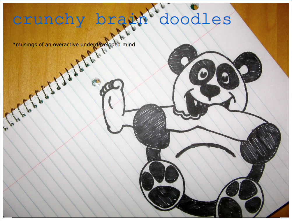 crunchy brain doodles