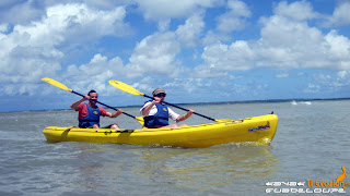 kayak, guadeloupe