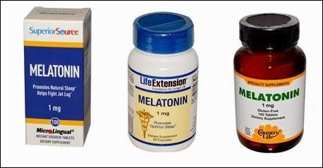 iHerb melatoniini tuotesuositukset