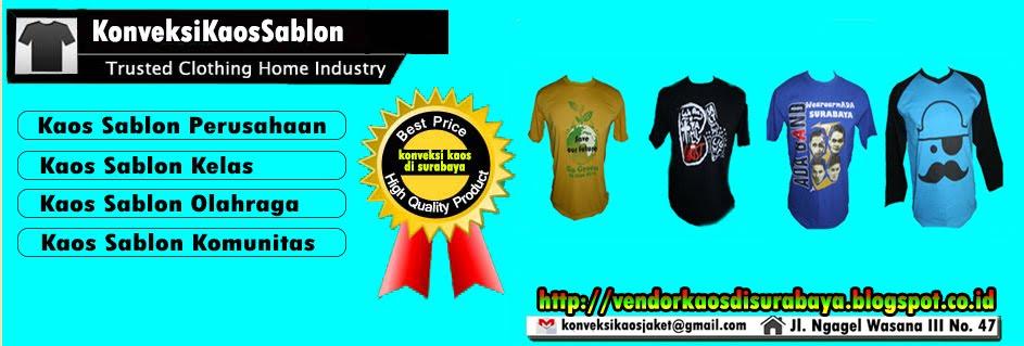 Vendor Kaos Promosi murah Grosir di Surabaya