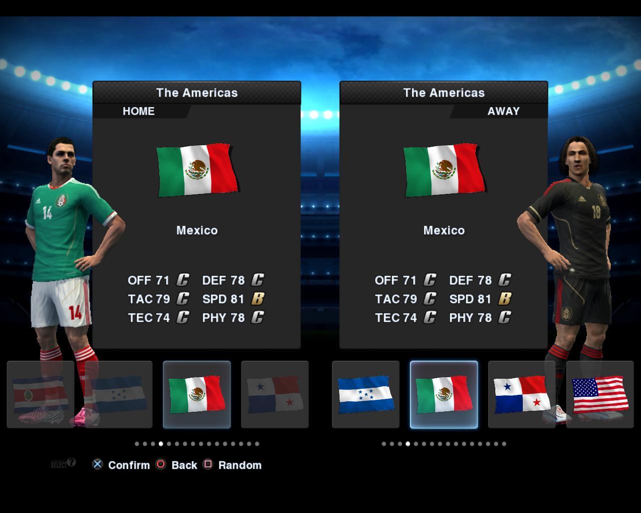 México 2012/13 Kitset - PES 2013