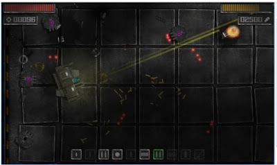 Game Strategi Arkade Cyber Shooter Droid Rush APK Android