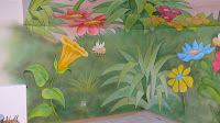 Artystyczna malarstwo ścienne, aranżacja pokoju chłopca, warszawa