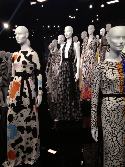 DVF Diane Von Furstenberg Journey of a Dress Exhibit LACMA