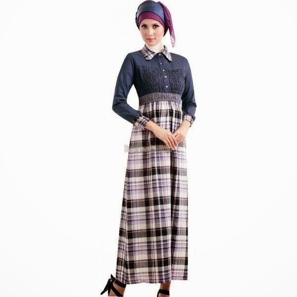 Baju Muslim Terbaru Model Gamis 2014 Contoh Model Baju