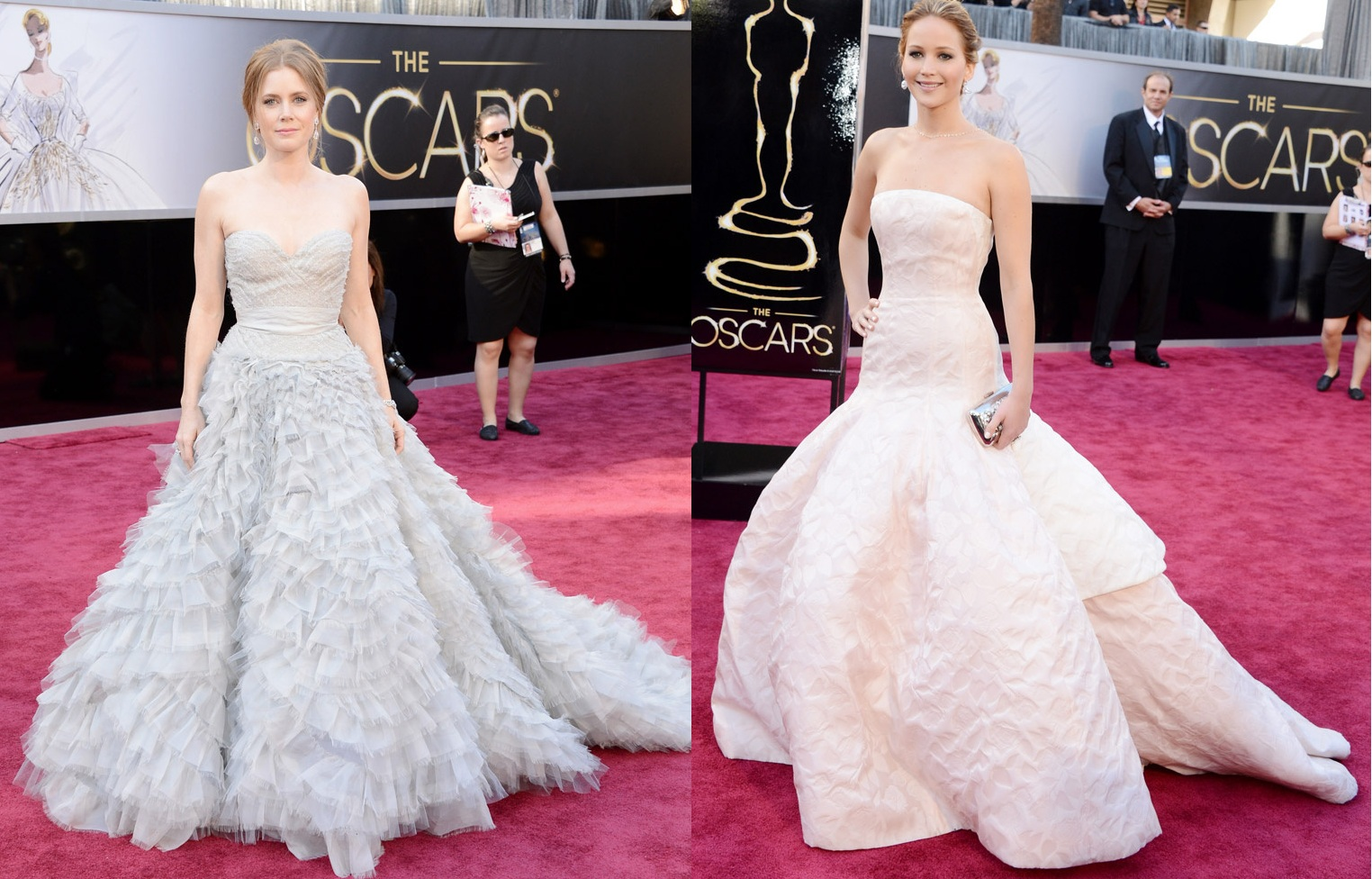 rock and bows: Oscars 2013: best dressed