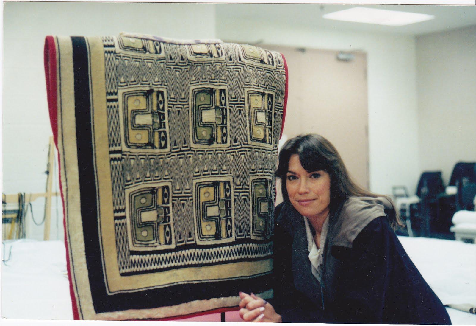 Evelyn Vanderhoop Weaving Artist