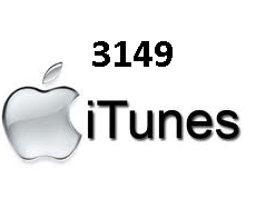 Error 3149 on Itunes