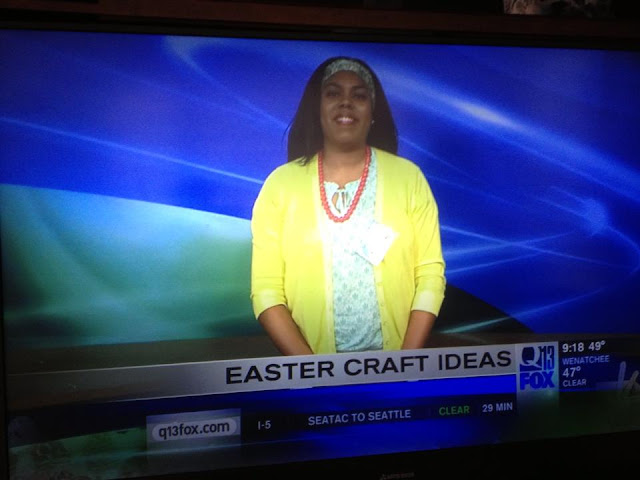 Q13 FOX Easter craft ideas segment