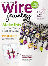 My Wire Cuff is On the Cover!