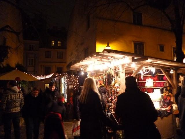 Spittelberg mercatini di natale, vienna