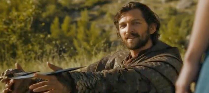 Michiel Huisman Daario Naharis episodio 4x01 - Juego de Tronos en los siete reinos