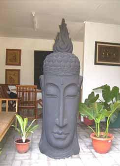 Patung Batu Buddha GRC