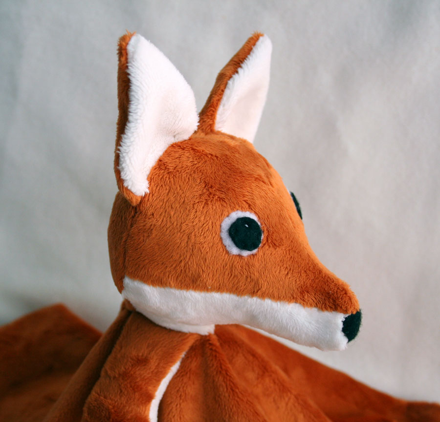 Tangible Pursuits: Fox Lovey Patten Release
