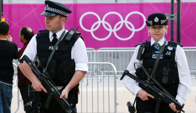 Uniform Fashion♡ Police London Olympics 2012