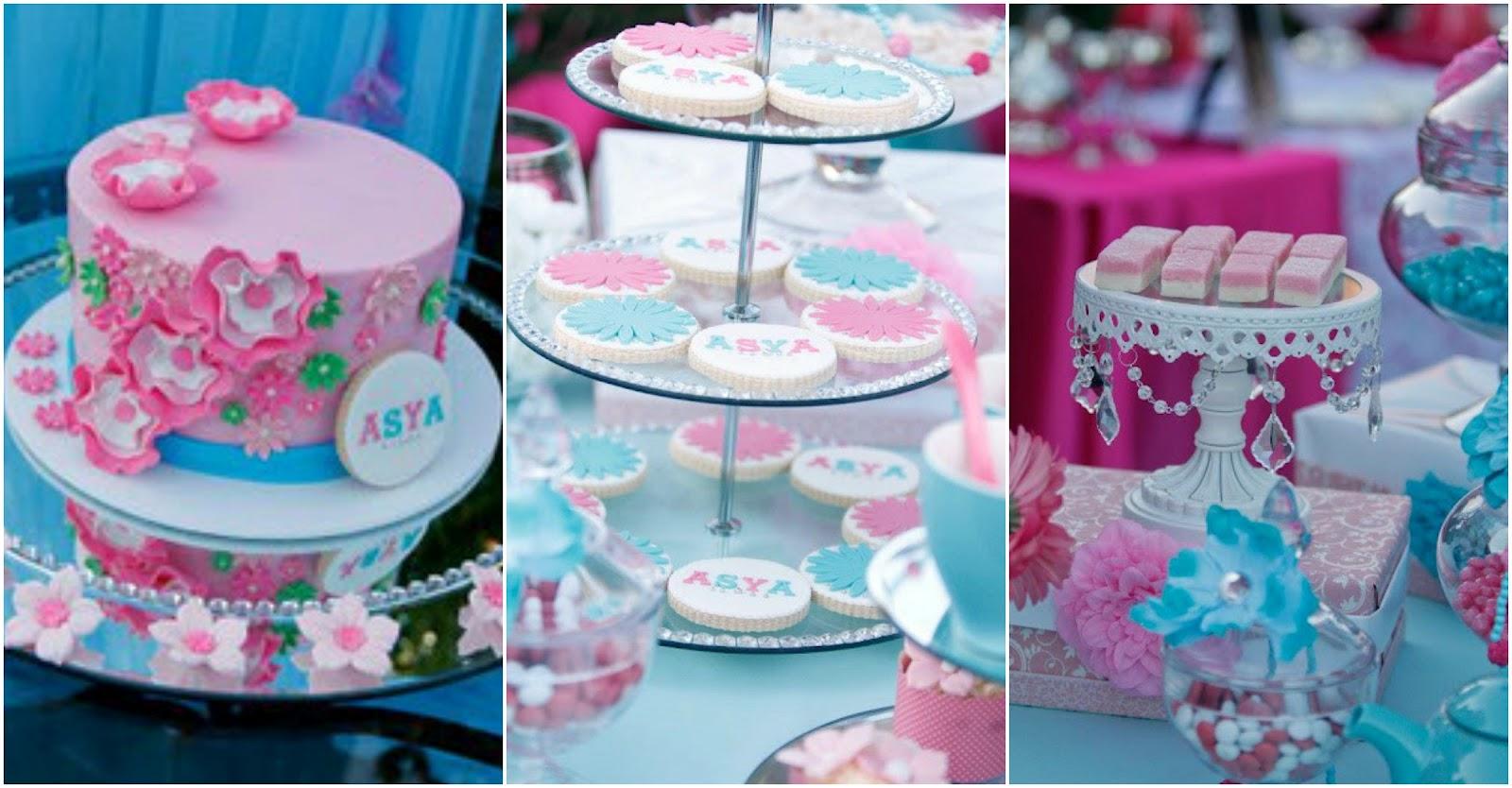 Blue Orange Wedding Cake Ideas and Designs