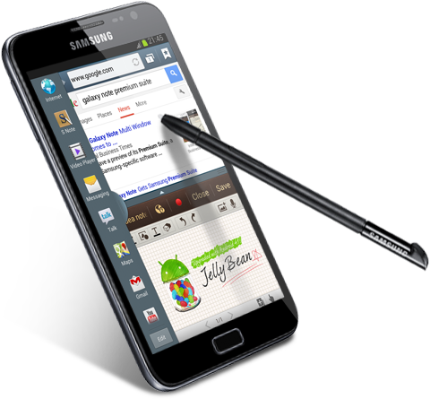 Samsung's Galaxy Note to get Android 4.1 Jelly Bean with Premium Suite