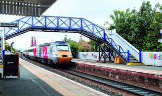 A railway station in Scotland became Darjeeling