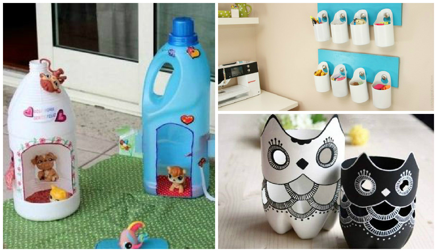 Manualidades ideas fabulosas para reciclar botellas - Reciclar botellas de cristal ...
