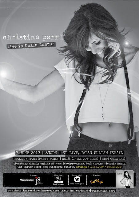 cristina perri june2012 Christina Perri Live in Kuala Lumpur