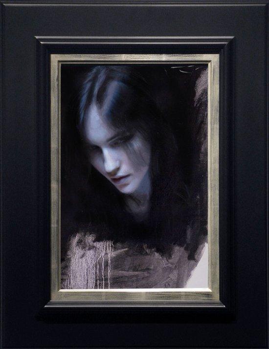 Casey Baugh pinturas foto-realistas como fotografias com filtro impressionista