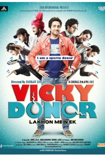 Vicky Donor 2012 poster