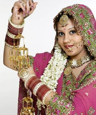 punjabi bridal bangles bridal makeup