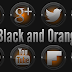 Black and Orange - Icon Pack v3.2.4.1 Apk