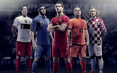 Christiano Ronaldo - Robert Levandowski - Wesley Sneijder - Yann M Vil Luka ModriC