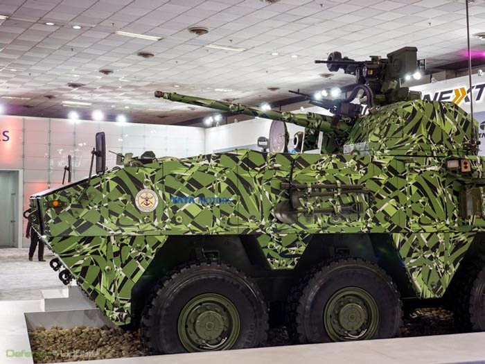 TATA motors Kestrel Light Armored Reconnaissance Vehicle (LARV)