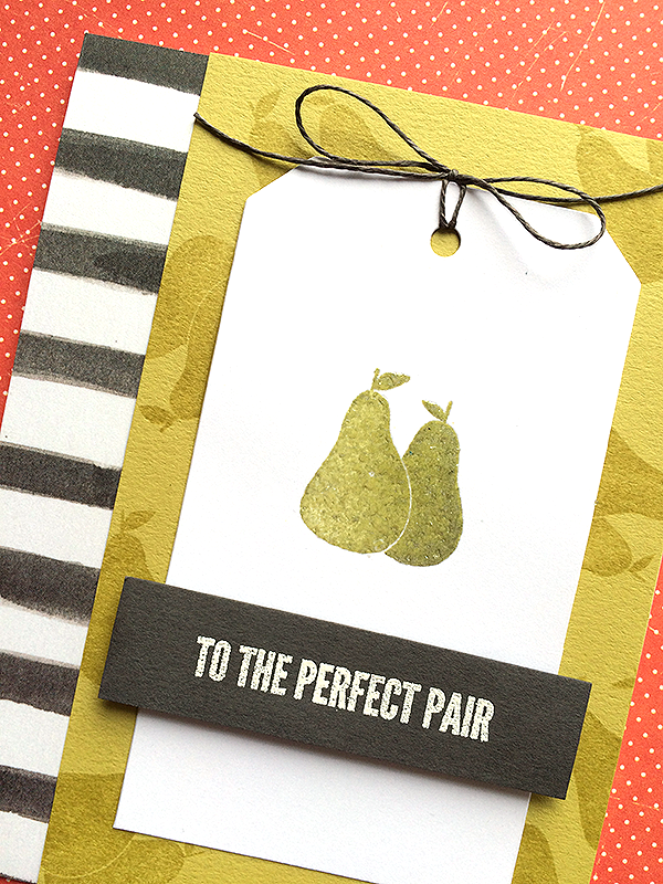 Penny Black - Perfect Pear Card