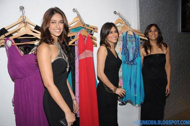 Ileana D'Cruz Designs at Rewania Fashions Stills