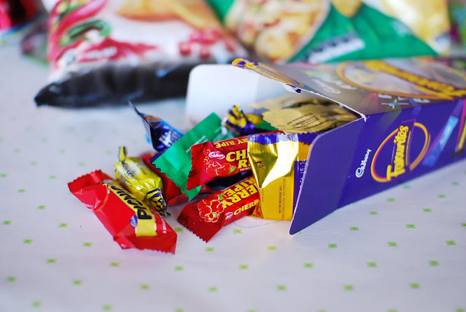 Aussie Australian BBQ Cadbury Favourites Chocolates