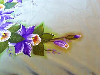 pintura de orquideas