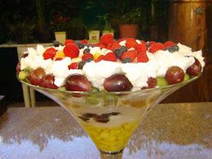 Sobremesa de Frutas