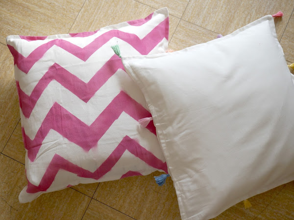 DIY - Customisez ses oreillers