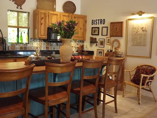 walnut kitchen island canopy counter stools