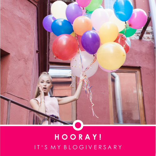Blogiversary Woman Balloons