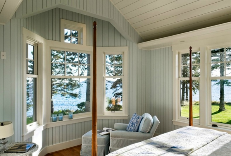 cottage, coastal bedroom