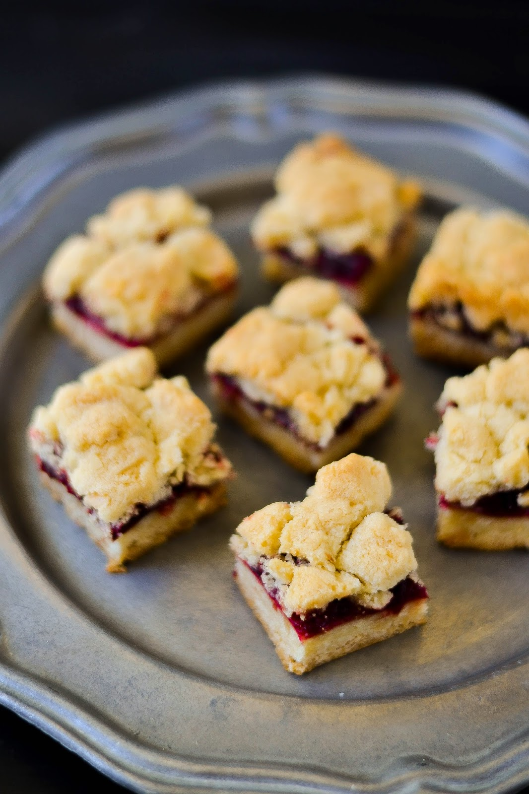 Cranberry-Almond Shortbread Tart Recipes — Dishmaps